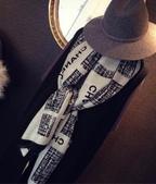 【Burberry Gucci Chanel】各名牌圍巾 披肩:Chanel圍巾披肩尺寸200x90