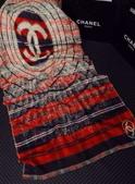 【Burberry Gucci Chanel】各名牌圍巾 披肩:Chanel圍巾披肩尺寸180x65