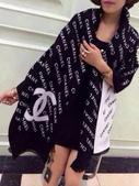 【Burberry Gucci Chanel】各名牌圍巾 披肩:Chanel圍巾披肩尺寸180x70