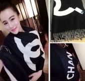 【Burberry Gucci Chanel】各名牌圍巾 披肩:Chanel圍巾披肩尺寸200x70