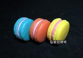 土司模與皂盤:爆槳馬卡龍(中)3連模(一組6穴)3D模