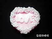 土司模與皂盤:玫瑰LOVE(一組3連模)