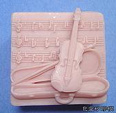 皂模成品:小提琴