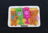皂模成品:蘇迪勒熊愛郵筒(1)