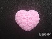 囍字皂模:玫瑰心囍