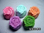 立體模區:小玫瑰花(3)一組10入單模