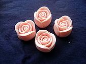 立體模區:小玫瑰花(1)一組(10個單模)