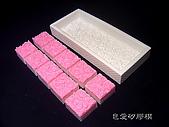 土司模與皂盤:玫瑰矽膠模皂盤