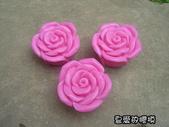 立體模區:綻開玫瑰(3) 一組10入