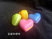 土司模與皂盤:愛心爗漿馬卡龍(3)連模(一模6穴)3D