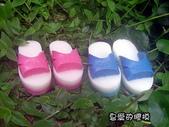 皂模成品:台灣拖鞋(一雙)託付一生