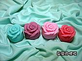 立體模區:小玫瑰花(5)一組10入單模