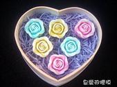 立體模區:綻開玫瑰(7)一組10入