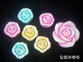 立體模區:大玫瑰花
