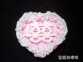 土司模與皂盤:玫瑰囍(一組3連模)