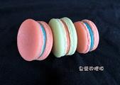 土司模與皂盤:爆槳馬卡龍(大)3連模(一模6穴)3D