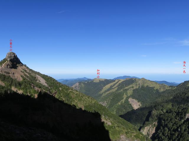 大霸尖山、小霸尖山、伊澤山、加利山(大霸群峰)20190902:IMG_1241.JPG