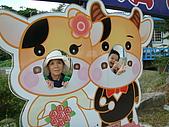 98.7.25桃園一日遊第三站大黑松小倆口-愛情故事館:翰翰在高興啥.JPG