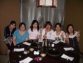 98.7.17出納科於台北101四樓三幡家聚餐 :淑綿狠累厚,貞冶你在看那兒呀.JPG