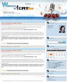 Website Design:ICRT 新聞部落格