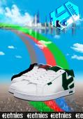 X 塗鴉 V 隨意塗鴉:修行中-0723板鞋廣告