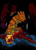 X 彩圖 V 異形生命體研究中心:食屍蛾
