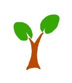 X 設計 V Logo:自然能源