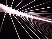 台中大坑夢幻情人橋夜景:夢幻情人橋夜景