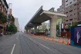 台中MRT捷運相簿:崇德路與文心路口U型橋樑
