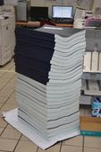 工程合約書影印精裝:藍晒施工製本