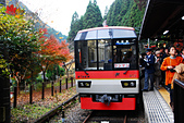 2016日本京都追紅葉:1121-112我們搭紅葉列車先來到終站鞍馬站.jpg