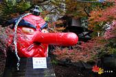 2016日本京都追紅葉:1121-117為的是要來看鞍馬駅旁的大天狗.jpg