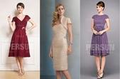 robe mariage:robe-elegante-colore-courte-manches-courtes-pour-50-ans.jpg