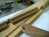 鑿刀箱製作過程(完結篇):前板後方與中柱嵌合