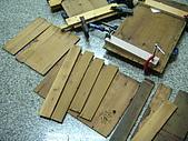 鑿刀箱製作過程(完結篇):拆卸檜木板