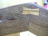 木工亂亂作的後果~part2:背面蝴蝶鍵片加強