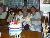 96年的最後二個蛋糕:爺爺76歲囉3.JPG