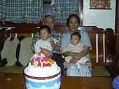 96年的最後二個蛋糕:爺爺76歲囉5.JPG