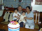 96年的最後二個蛋糕:爺爺76歲囉1.JPG