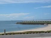 南海巡禮:綠觿龜觀光保育中心前的沙灘為保護區.JPG