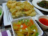 日式魚類料理:絲瓜海鱸捲天婦羅 (2)