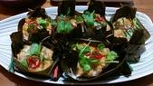 南洋魚類料理:蒸紅咖哩魚餅