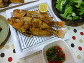 南洋魚類料理:酥炸大眼鯛佐泰味醬汁與酸蝦湯 (3)