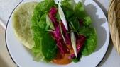 中式魚類料理:辣味剝皮魚香蘭刈包