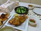 南洋魚類料理:酥炸大眼鯛佐泰味醬汁與酸蝦湯