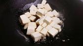 中式魚類料理:蝦仁燒豆腐