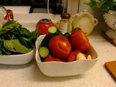 簡單料理:羅勒透抽義麵1 (2)