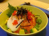 日式魚類料理:生鮭丼飯 (3)