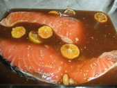 日式魚類料理:鮭魚味增漬2