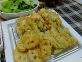 日式魚類料理:絲瓜海鱸捲天婦羅